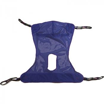 Invacare Full Body Mesh Sling with Commode Opening