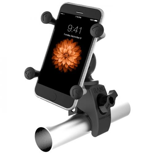 Rotating Wheelchair Cell Phone Mount