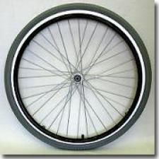 """Quickie 24"""" Spoke Replacement Wheel Complete"""