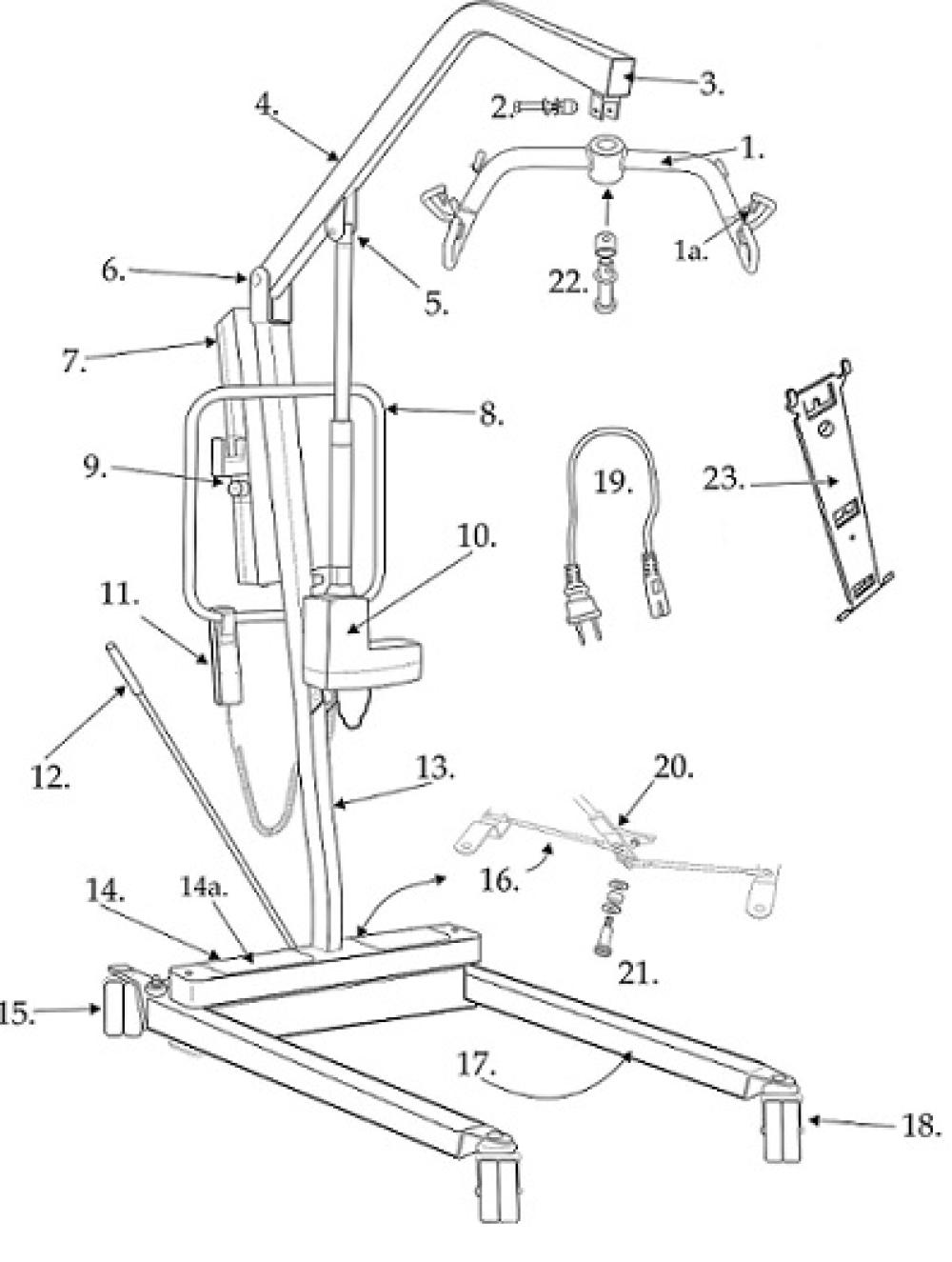 Parts For 13240 parts diagram