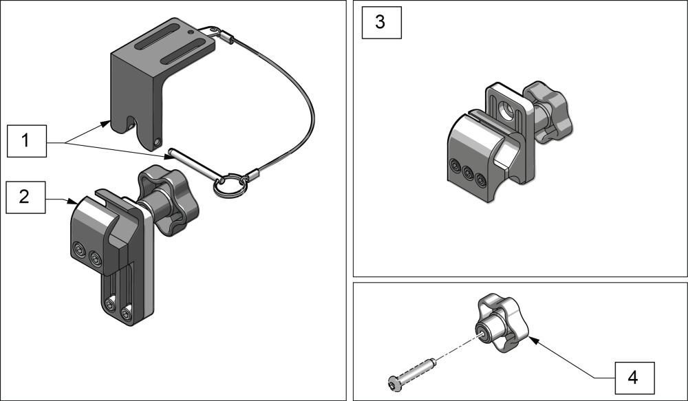 Universal Mounting Hardware parts diagram