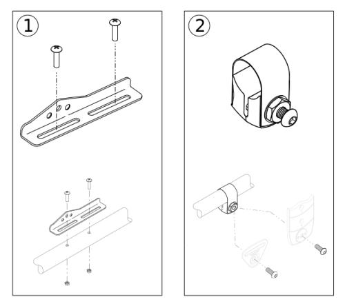 Belt Mounting Bracket Kit parts diagram