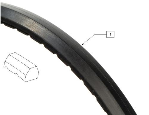 Low Poly Tire parts diagram