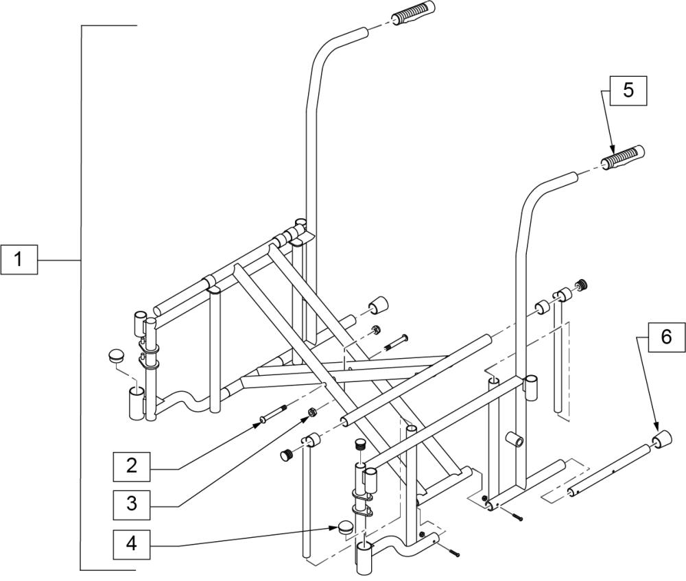 2000 Hd Frame parts diagram