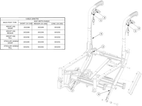 Liberty Ft Tilt Mechanism - Growth parts diagram