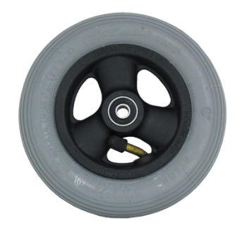 Primo 6 x 1 1/4 in. Pneumatic Wheelchair Caster Wheel, Complete
