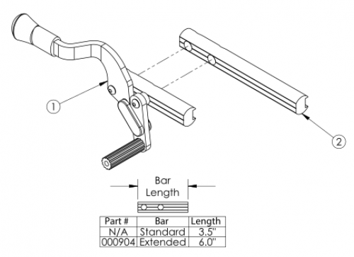 Push To Lock Flush Mount Wheel Lock parts diagram