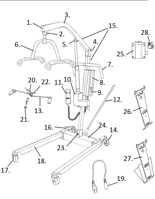 Replacement Parts parts diagram