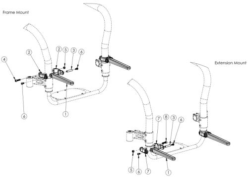 Tsunami Luggage Carrier parts diagram