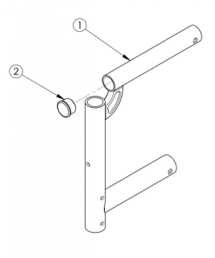 Spark Swing Away Front Frame parts diagram