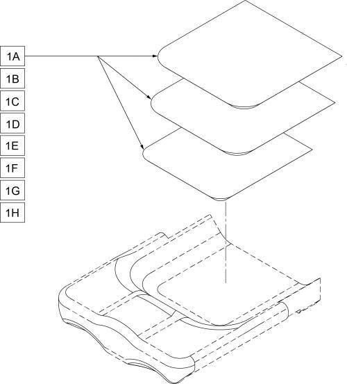 Seat Well Insert Foam parts diagram