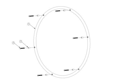 Softwheel Handrims parts diagram
