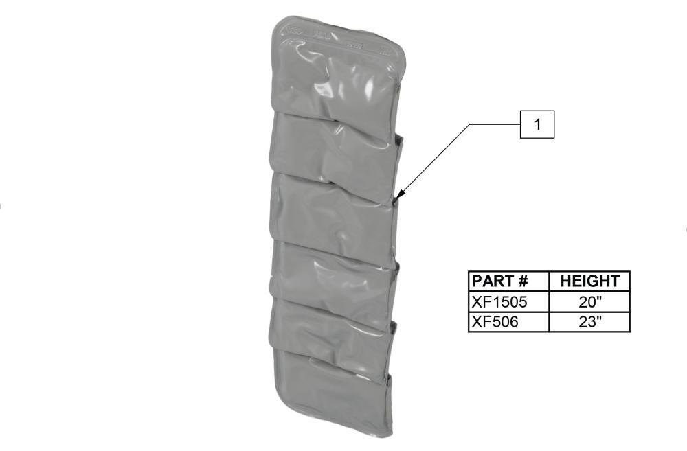 Jay Spinal Fluid Pad parts diagram