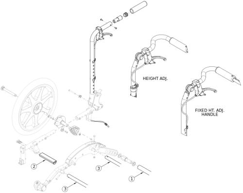Flip Drum Brake - Growth parts diagram