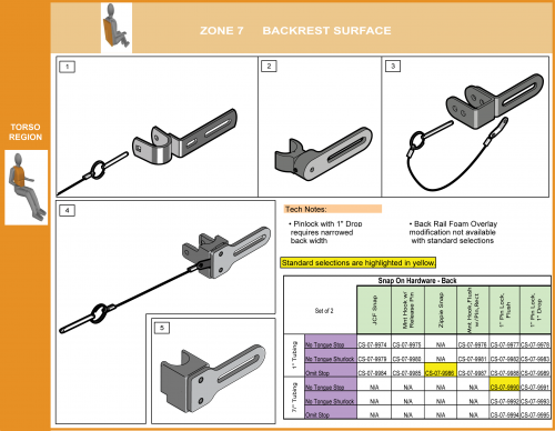 Cs-07-back Step 7 Select Attachment Hdwr Snap On Upper(6 Of 8) parts diagram