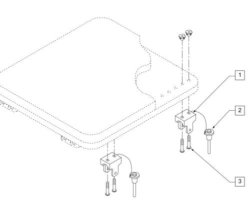 Seat Mounting Hardware (transit Approved) parts diagram