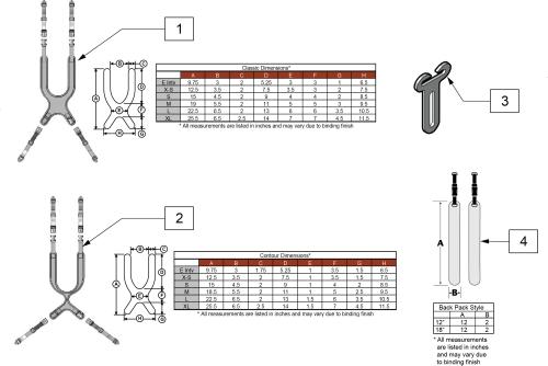 Anterior Trunk Support parts diagram