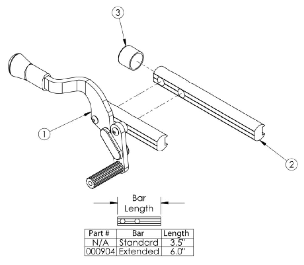 Clik Push To Lock Flush Mount Wheel Lock parts diagram