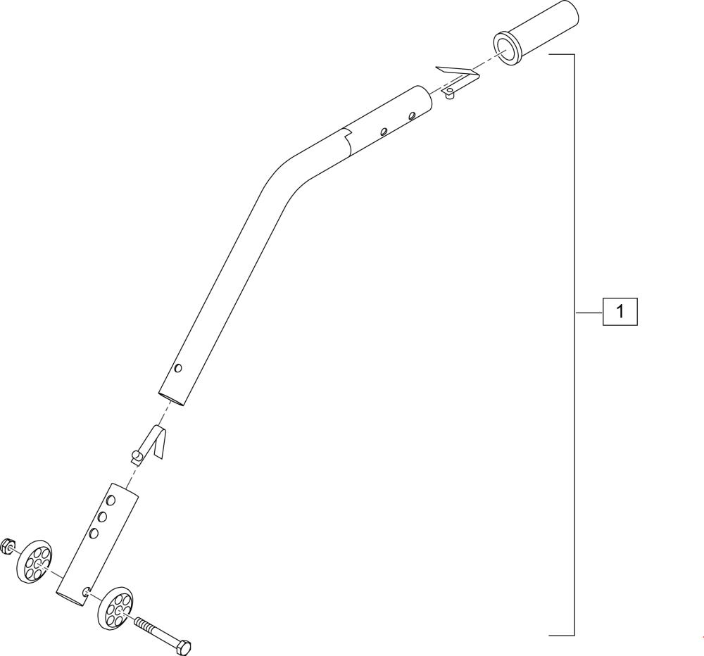 Rear Anti Tip (4000) parts diagram