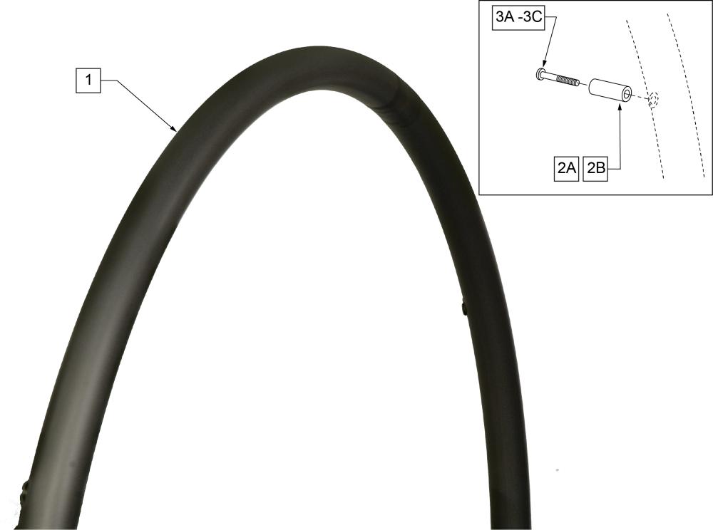 Aluminum Anodized (screw Mount) parts diagram