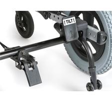 Foot Release Tilt Actuator and Attendant Wheel Lock