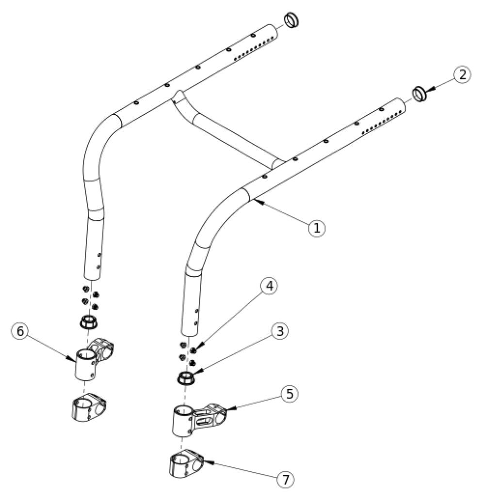 Tsunami Al Rigid Frame parts diagram