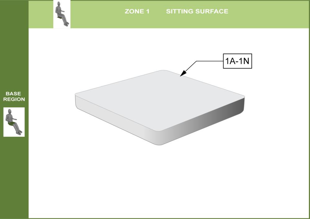 Cs-01-seat Step 3 - Select Foam parts diagram