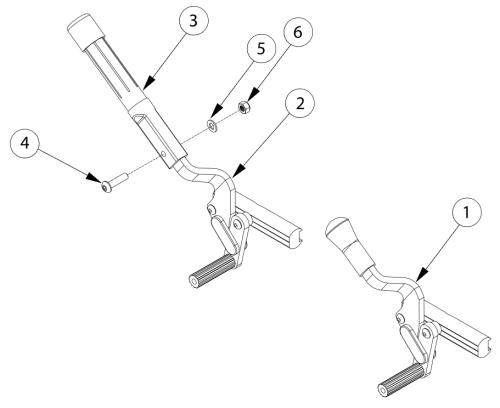 Discontinued Push And Pull To Lock Wheel Locks parts diagram