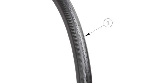 Catalyst Full Poly Tire parts diagram