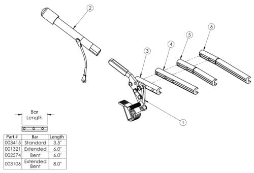Clik Grade Aid parts diagram