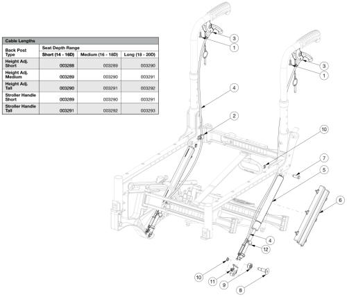 Liberty Ft Tilt Mechanism parts diagram