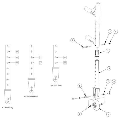 Catalyst 5vx Transit Wheels parts diagram