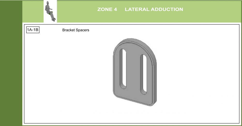 Cs-04 Lateral Adductor Support Bracket Modifications parts diagram