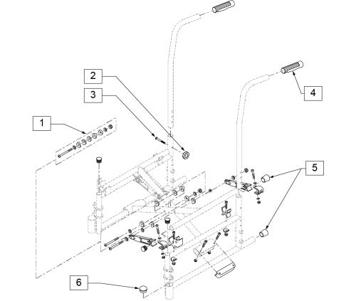 4000 Frame parts diagram