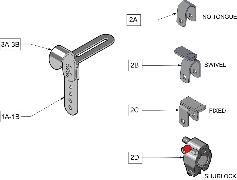J Hooks Mounting Hardware parts diagram