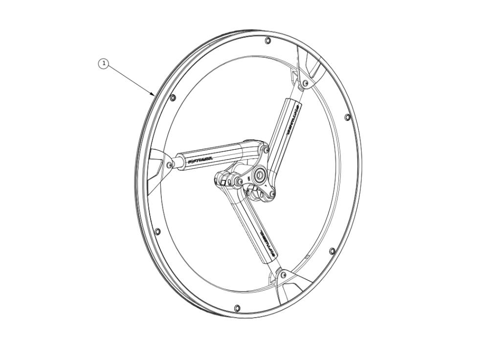 Softwheel parts diagram
