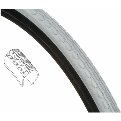 24 x 1 3/8 (37-540) Primo X-treme Kevlar Belted Wheelchair Tire