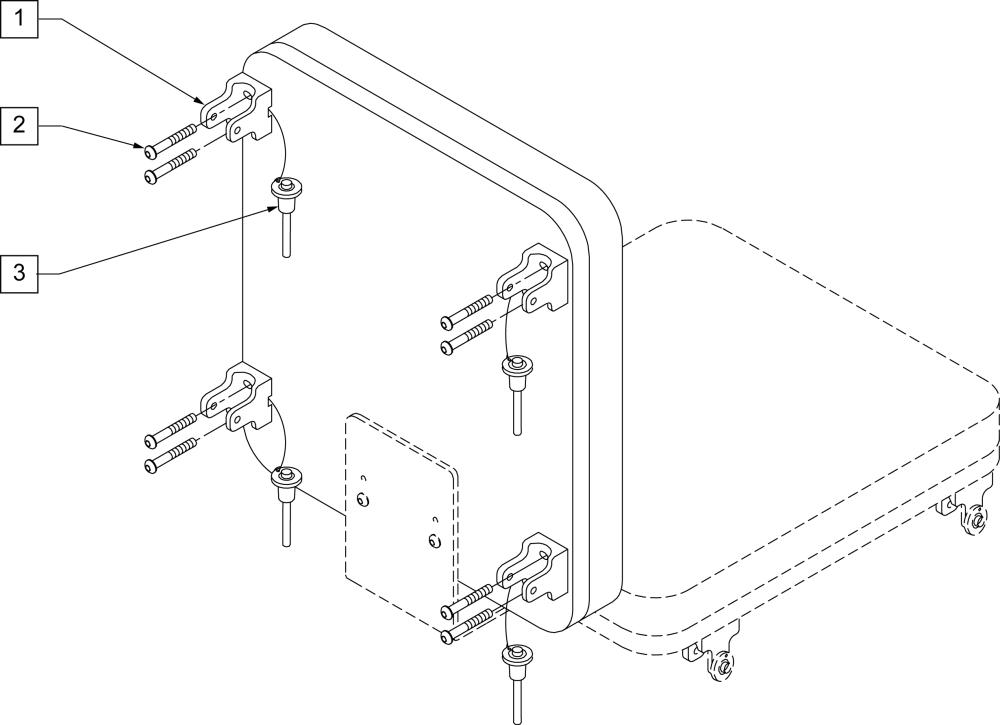 Ts Snap Back Mounting Hardware parts diagram