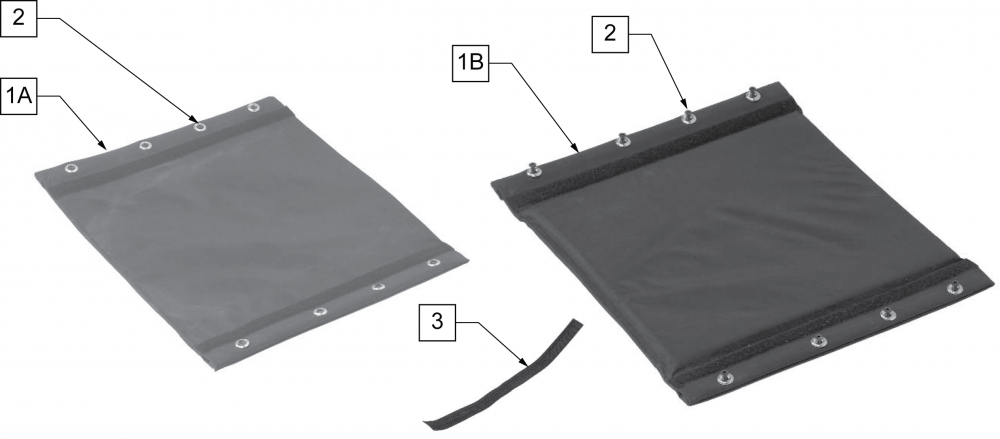 Seat Slings parts diagram
