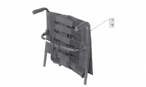 Tension Adjustable Back parts diagram
