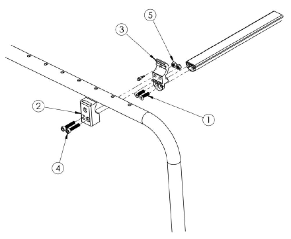 Clik Composite Side Guard Receiver parts diagram