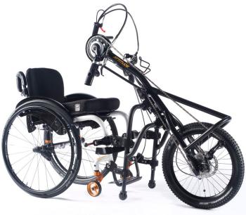 Quickie Attitude Wheelchair Hand Bike - Manual