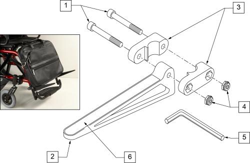 Quickie Caddy parts diagram