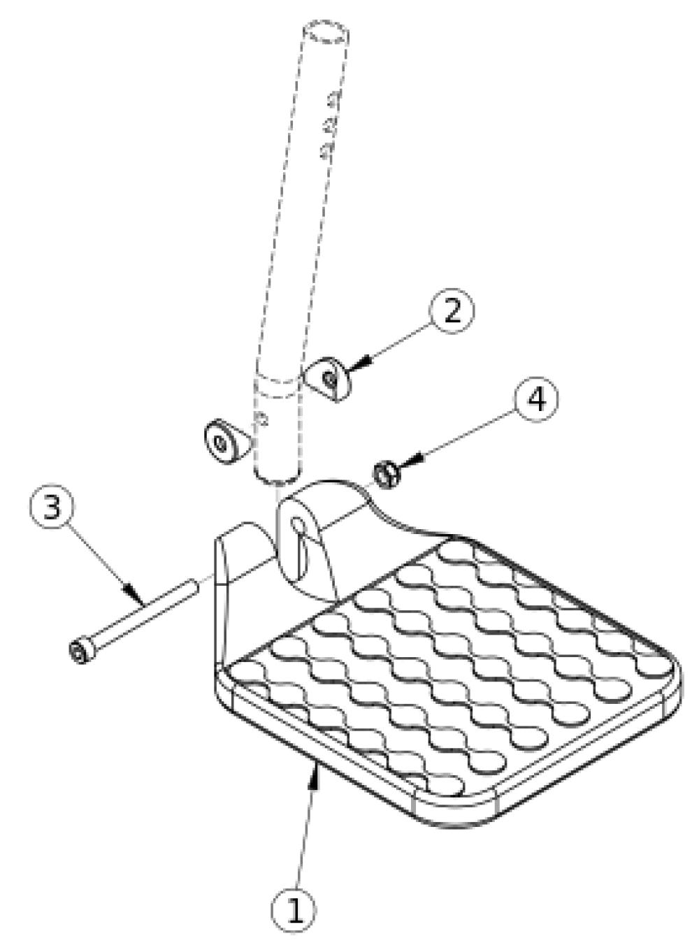 Composite Footplate parts diagram