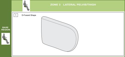Cs-03 Lateral Pelvic Support Pad Modifications parts diagram