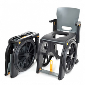 WheelAble Portable Shower Commode Chair