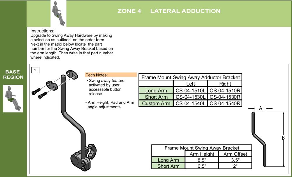 Cs-04-add_fm Upgrade To Swing Away Hardware parts diagram
