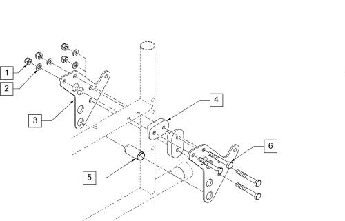 Axle Plate Ultra Hemi parts diagram