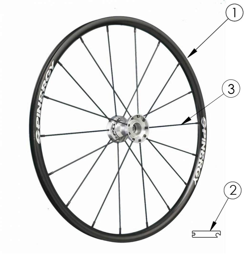 Rogue Xp Spinergy Spox Wheel parts diagram