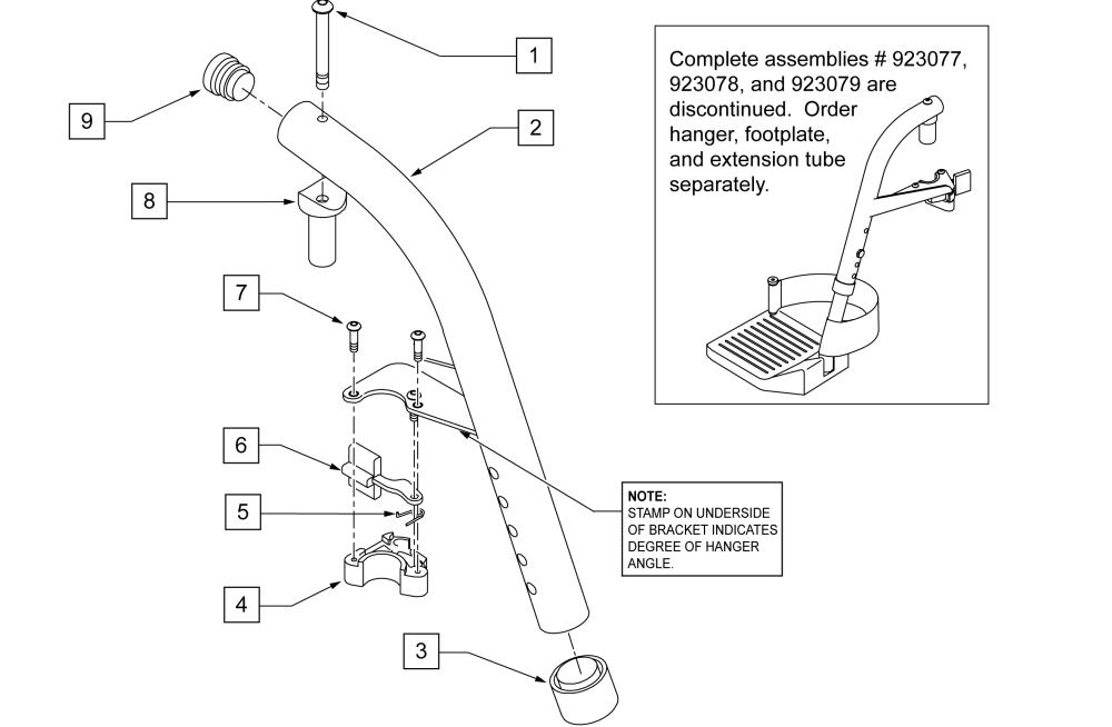 70 Swing Away Hanger (breezy) parts diagram